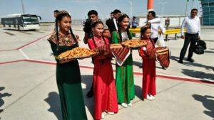 トルクメニスタン歓迎