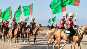 トルクメニスタン騎馬隊